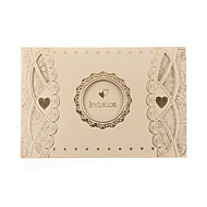 Pretty Wedding Invitation With Round Cut-out (Set of 50)