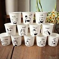der 12 chinesischen Tierkreismuster Keramik-Tasse (12pcs / set)