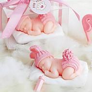 Baby Shower baby Wol Kaars (meer kleur)