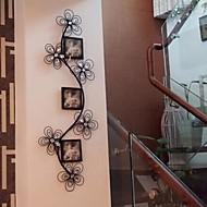 metalli seinälle rauta seinä sisustus romanttinen fancy valokuvakehys seinä sisustus