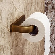 Porte Papier Toilette Laiton Antique Fixation Murale 19*9*3cm(7.5*3.5*1.2inch) Laiton Antique