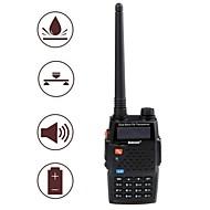baiston bst-598uv imperméable antichoc bi-bande à double écran double veille talkie-walkie - noir
