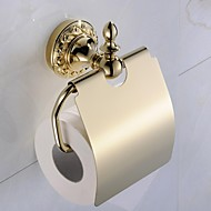 Antique Ti-PVD Finish  Brass Material  Toilet Paper Holder