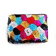 2014 Nyeste Moderigtigt Farverig Paillette sømmede multifunktions Lady Hand taske