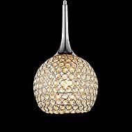 Lustres ,  Contemprâneo Cromado Característica for Cristal Metal Sala de Estar