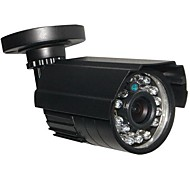 cctv hd 24ir 900tvl cmos-ir cut dag / nacht waterdichte home security camera met beugel