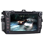 8Inch 2 DIN In-Dash Car Player for Toyota Corolla 2008-2011 with GPS,BT,IPOD,RDS,DVB-T,Touch Screen