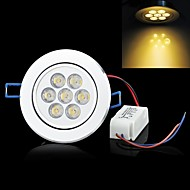 LUO 7 W 7 High Power LED 700 LM Warm White C Decorative Ceiling Lights AC 85-265 V