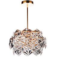 diseño moderno de cristal exclusiva luz de techo