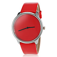 Women's Simple Dial Pure Color PU Band Quartz Wrist Watch (Assorted Colors) Cool Watches Unique Watches Fashion Watch