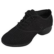 נעלי הספורט של נעלי ספורט ריקוד נשים טול נמוך העקב עם נעלי ריקוד שרוכים (צבעים נוספים)