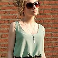 Camiseta (Chifon) Casual - Fina/Leve Transparência - Padrão