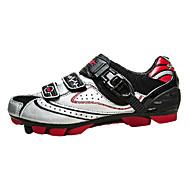 싸이클링 신발 남성의 산악 자전거 안티 슬립 / 빠른 드라이 / 통기성 레드 / 블랙 / 실버-SANTIC®