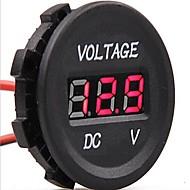 dc 12v-24v auto digitale leidde voltage elektrische voltmeter schermindicator tester