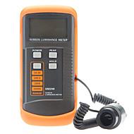 SM208 tragbaren Bildschirm Leuchtdichtemesser Bildschirmhelligkeit Belichtungsmesser (0.01-39990cd / m2)