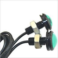 LED Tågelys/Dags Kørelys/Nummerpladelys Lampe (Grøn