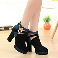 Women's Shoes Platform Chunky Heels Suede Pumps Shoes More Colors available