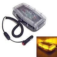 blikající LED 24 mini rampa nepromokavé magnet nouzové osvětlení (volitelné barvy)
