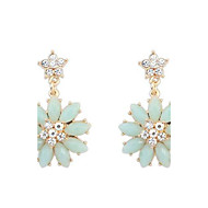 Candy Colored Sweet and Lovely Flower Earrings (More Colors)
