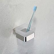 """מחזיק למברשת שיניים / פלדת אל חלד / התקנה על הקירפלדת אל חלד /מודרני /7cm(2.8"""") 9.5cm(3.7"""") 0.5kg"""
