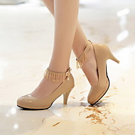 Women's Chunky Heel Round Toe Pomps/Heels Shoes (More Colors)