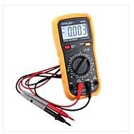 hyelec® my65 digitális multiméter AC / DC frekvencia mérő ampermérő Multitesterrel