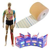 dl kintape 5cm x 5m kinésiologie traitement physio taping pour la protection de sport et de blessures sportives + soulagement de la douleur