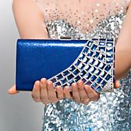 Βραδινή τσάντα - Γυναικείο - Πολυεστέρας Μαύρο / Μπλε / Χρυσό / Ασημί