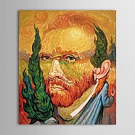 Hand Painted Oil Painting People Famous Masters Painting Van Gogh Combination Oleg Shuplyak   with Stretched Frame