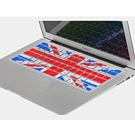 "Coosbo® UK Flag Silicone Keyboard Cover Skin for 11.6"",13.3"",15.4"",17"" Macbook Air Pro/Retina"