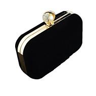sexlady ® kvinners brude vesken metall ren farge sexlady håndvesker