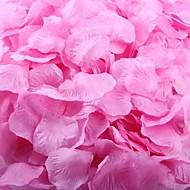 donker roze rozenblaadjes tafeldecoratie (set van 100 blaadjes)