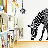 Wall Stickers Wall Decals,  Modern Half zebra PVC Wall Stickers