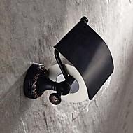 """מחזיק נייר טואלט ברונזה עם שמן גומי התקנה על הקיר 140 x 134 x 66mm (5.51 x5.27 x 2.59"""") פליז ענתיקה"""