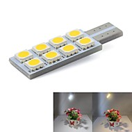 T10 8x5050SMD 0.5W Led Car Automotive light Interior Side Mark License Plate Lamp