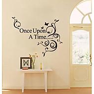 jiubai ™ engang citat wallsticker wallstickers
