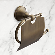 Antique Brass Wall-mounted Toilet Roll Holder, Bathroom Accessories (1018-J-29-6)