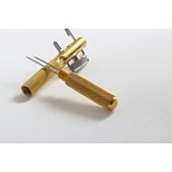 liga de alumínio dispositivo de gancho laço de duas pontas de agulha