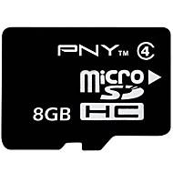 clase 8gb pny tarjeta de memoria tf 4 microSDHC