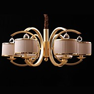 40w Modern/Contemporary Bulb Included Bronze Metal Chandeliers Living Room / Bedroom / Hallway