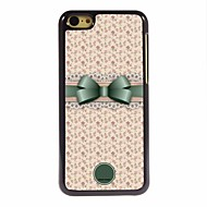 osobní dar krásné bowknot a květinový design kovové pouzdro pro iPhone 5c