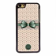 bowknot מתנה אישית נפלא ומקרה עיצוב מתכת פרח ל5c iphone