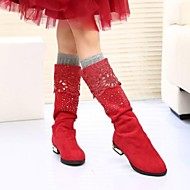 Girls' Shoes Fashion Boots Flat Heel  Knee High Boots More Colors available