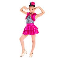 Kids' Dancewear Dresses&Skirts Children's Performance Satin