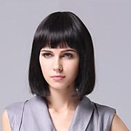 senza cappuccio parrucca capelli ricci 100% dei capelli umani