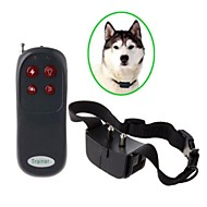 Dog Training Collar Remote Control  Electronic Shock Bark Control Collar Trainer for Dog - Black