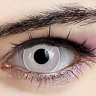 Naruto Neji Hyuuga Ranmaru Pure White Cosplay Contact Lenses(1 Pair)