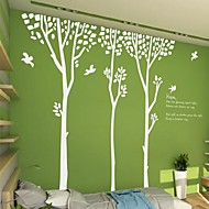 Wall Stickers Wall Decals,  Modern Simple forest birds PVC Wall Stickers