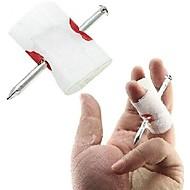 verschrikkelijk lastig gewonde kant nagel chrough vinger