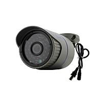 yanse® 1000tvl de metal de alumínio da câmera d / n CCTV IR 36 levou bala 719cf com fio à prova d'água